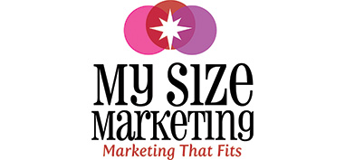 my size marketing logo