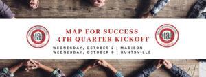 4th Qtr MAP for Success Group Kickoff - Huntsville @ Huntsville Hub